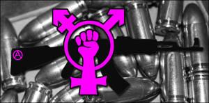 anarcho-queer revolt by blackpurpleredpink