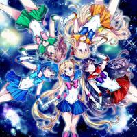 Bishoujo Senshi Sailor Moon by Tarapankoulus