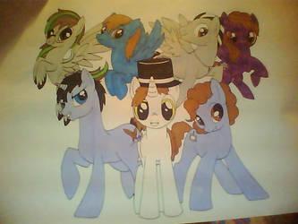 The Ponyforce!!! by Dreyax