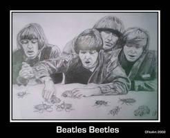 beatles beetles by cfitzart