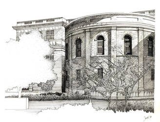 Architectural Linework by mykelayne