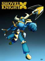 Shovel Knight X by ZMAnonymous