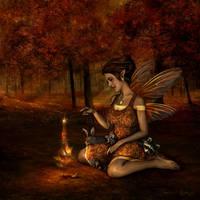 Autumn Sprite by Tammara