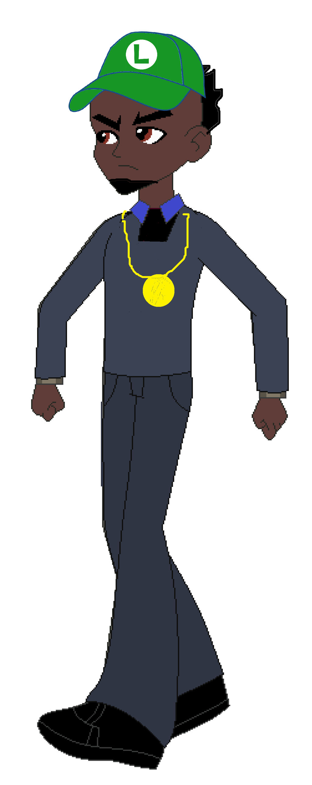 Ugly God Luigi Hat Wwwtopsimagescom