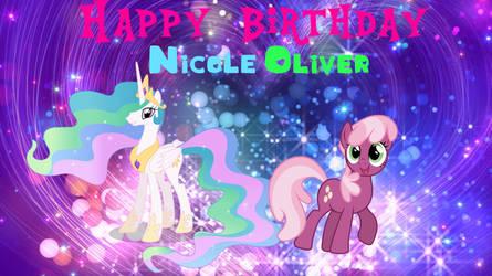 Happy Birthday Nicole Oliver by JawsandGumballFan24