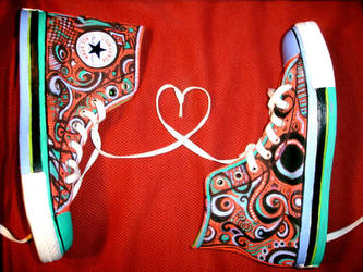 Converse Shoes Advertising by awassabee