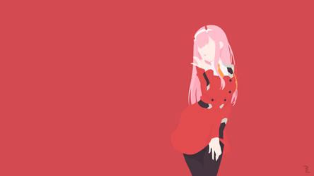 Darling in the Franxx, Zero Two Wallpaper by Rendracula