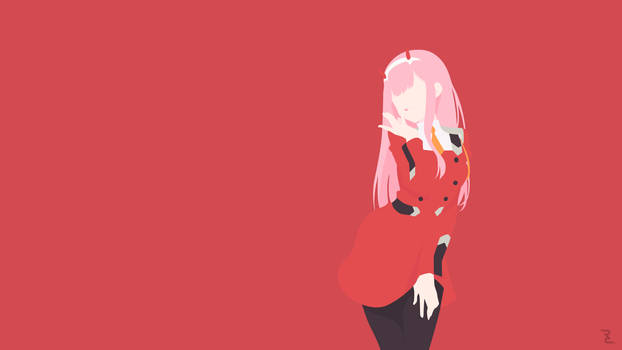 Darling in the Franxx, Zero Two Wallpaper by Rendracula