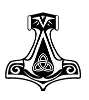 Assassin's Creed Norwegian Thor's Hammer Insignia by CosTitan-Productions