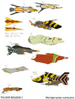 TTA new ship roughs 1 by VulnePro