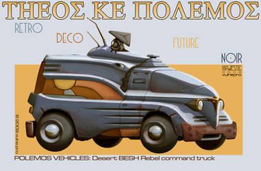 Besh desert truck by VulnePro