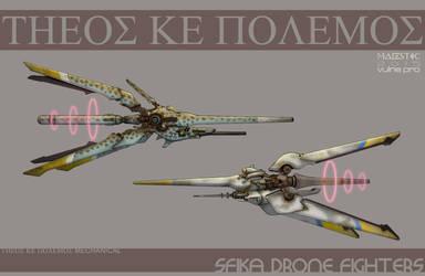 Sfika drone fighters by VulnePro