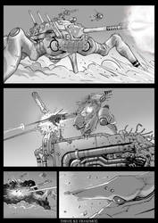 TKP: Siege of the Black Son manga test by VulnePro