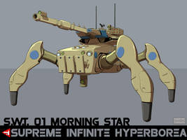 S.W.T. Morning Star (Spider Walkies Tank) by VulnePro