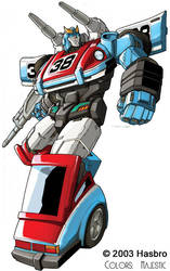 Transformers Smokescreen bot by VulnePro