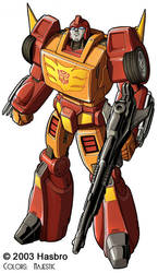 Transformers Rodimus Prime Bot by VulnePro