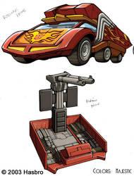 Transformers Rodimus Prime Car by VulnePro