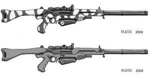 Rifts Assault Laser by VulnePro