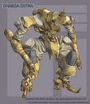 Dharga-Zatwa collab CG color by VulnePro