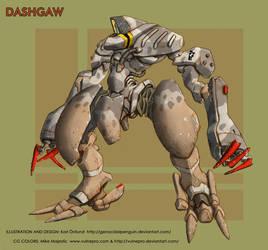 Dashgaw collab CG color by VulnePro
