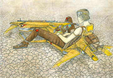 Hoverbike Walkabout by VulnePro
