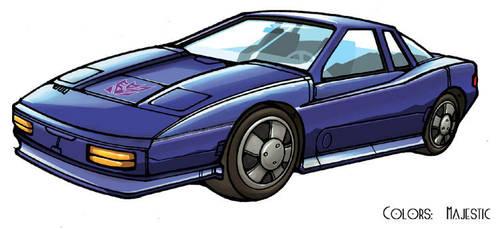 Transformers Roadhugger car by VulnePro