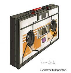 Transformers Laserbeak tape by VulnePro