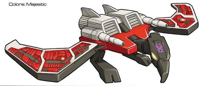 Transformers Laserbeak bird by VulnePro