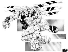 Battletech - Shrike Assault Mech. by sharlin