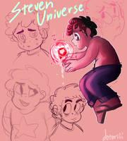 Steven Universe doodles by Dotoriii