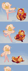 ballet lessons by Dotoriii