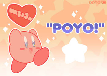kirby wants to be your valentine! by Dotoriii