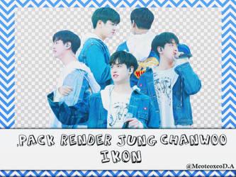 [08/06/2018] Pack render Jung Chanwoo iKON by meoteoxeo