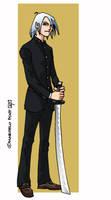 samurai boy by marcelopont