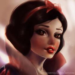 Snow white by chryssv
