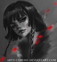 Lady nOir by chryssv