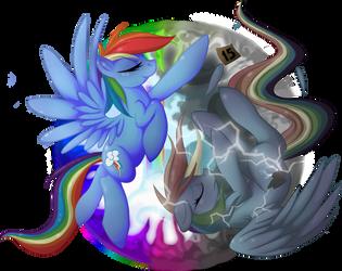 Rainbow Dash - Messenger of Loyalty by FallenInTheDark