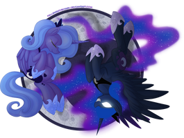 Princess Luna - Guardian of the Night by FallenInTheDark