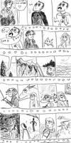 snow v. baratheon ROUND 1!!! (spoilers for adwd) by cj-ludd18