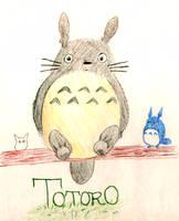 TOTORO by HPxZelda