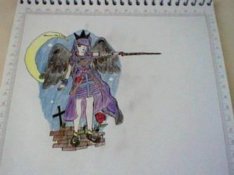 Dark Angel Queen by emaurow