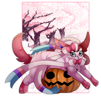 what a big pumpkin you have there by fluffideer