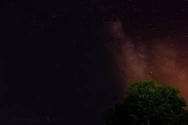 Milky Way Baric Draga Croatia by rudoma