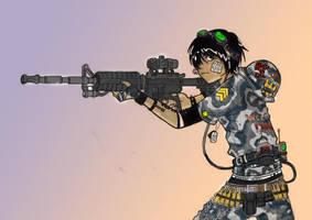 M4 Chick by grenadeh