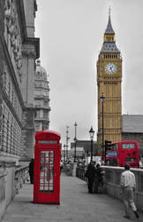 London BW + some colour maybe by WIRTA