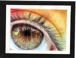 This Hazel Eye by Temawei