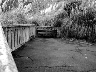 A lonely bench by DarkLinkFire