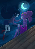 Bubbline (AT) - Moonlit Rooftop by Saruke
