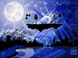 Midnight Paradise by Nitroxic-4jer