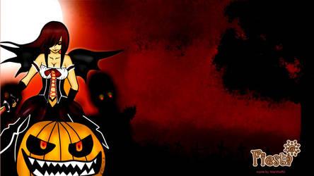 Karen Happy Halloween by WerWolfiii